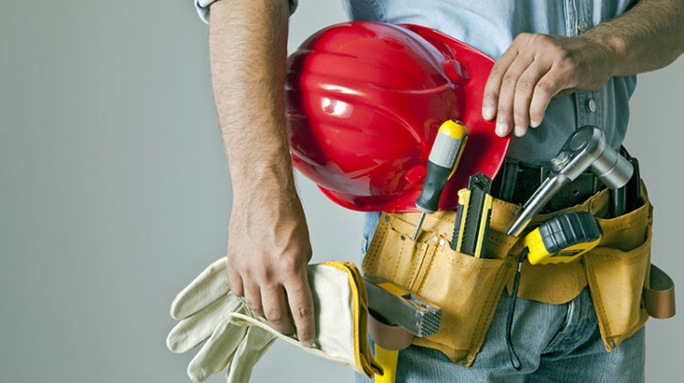maintenance, tools, worker, helmet