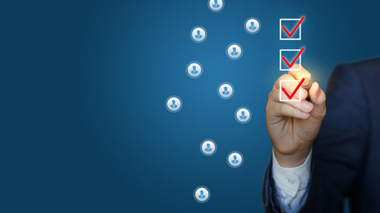 checklist, customers, employees, people, factors, tasks