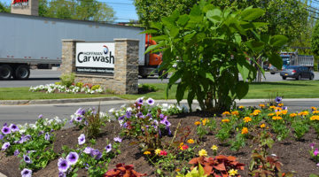 flowers, landscaping, site appearance, site cleaning and maintenance, signage