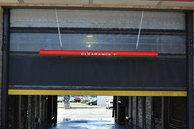 carwash door, in-bay automatic, IBA, carwash
