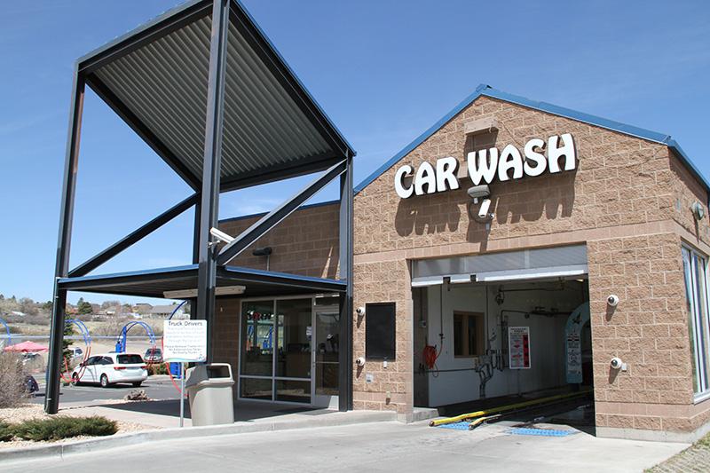 Wild Blue Car Wash