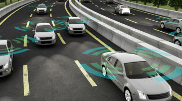 autonomous vehicles, concept, sensors, cars