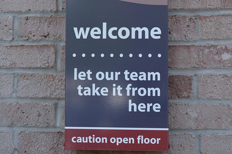 signage, warning, safety