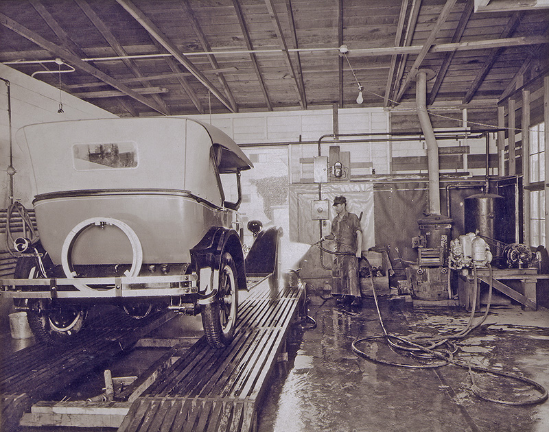 carwash history, hand wash