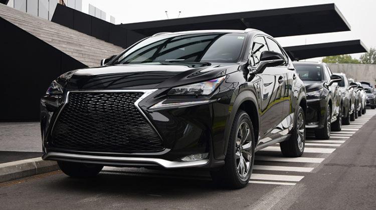 Lexus, special needs vehicles, cars, sensors, modern