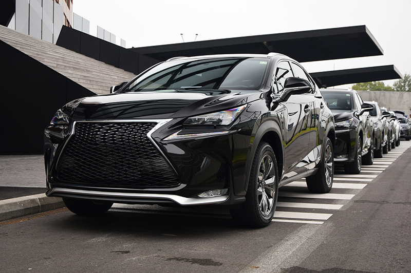Lexus, special needs vehicles, cars, sensors, modern