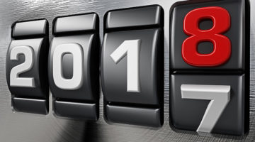 2017, 2018, new year, changes, odometer