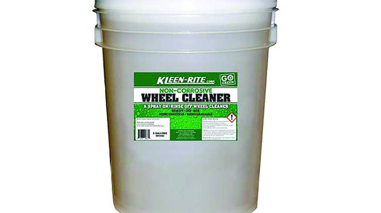 wheel cleaner, Kleen-Rite Corp.