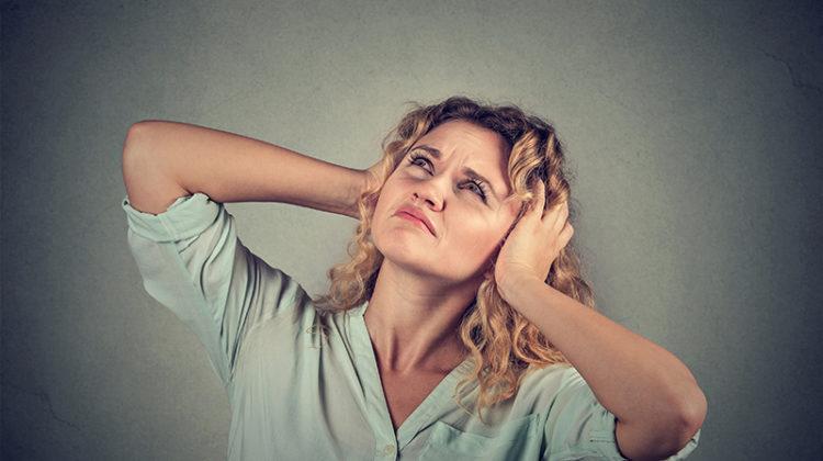 noise, woman, covering ears, loud