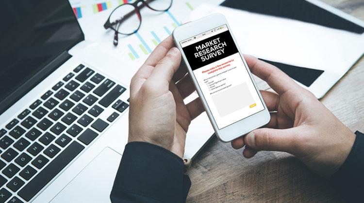 survey, mobile, cellphone, laptop