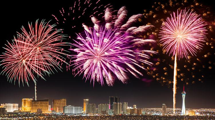 fireworks, event, Las Vegas, city