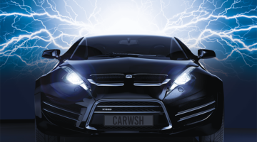 car, electricity, lightning, energy