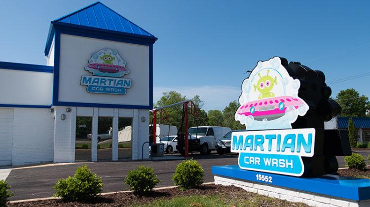 Martian Car Wash