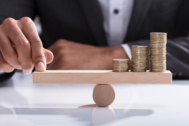 profit, increase, money, lever, man, businessman