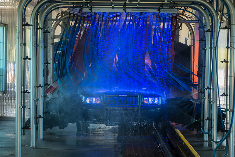 Martian Car Wash