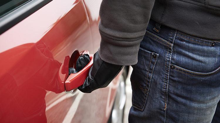 carjacker, thief, car, stealing
