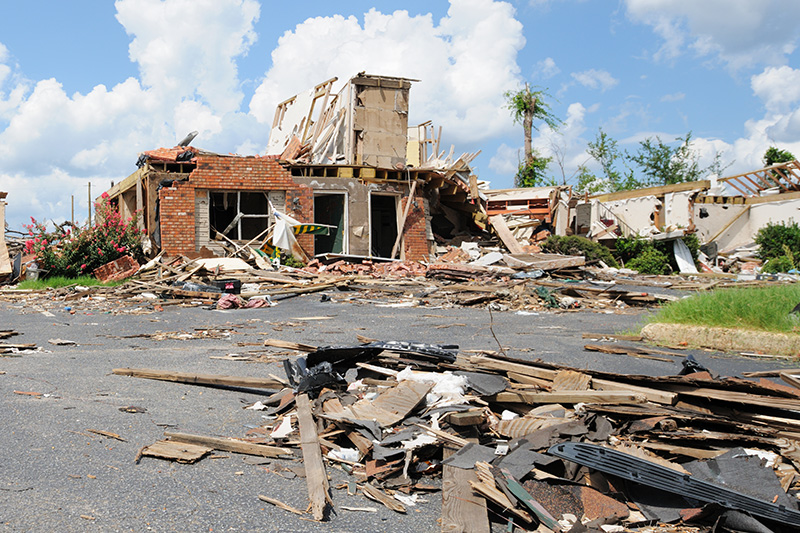 insurance, tornado damage, hurricane, wreck, building