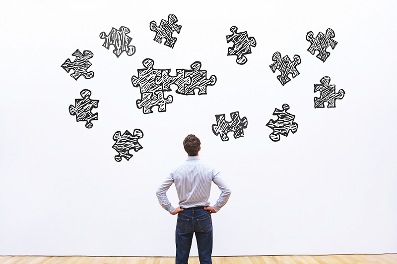 puzzle, man, employee, mergers and acquisitions, questions