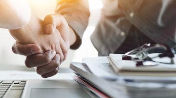 negotiation, handshake, meeting, businessmen, hands, papers