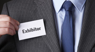 exhibitor, trade show, businessman