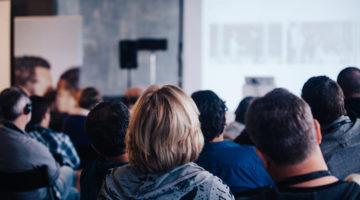 conference, presentation, trade show, seminar