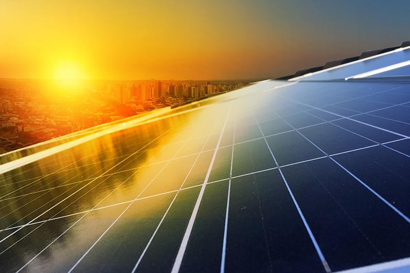 solar panel, solar energy, sun