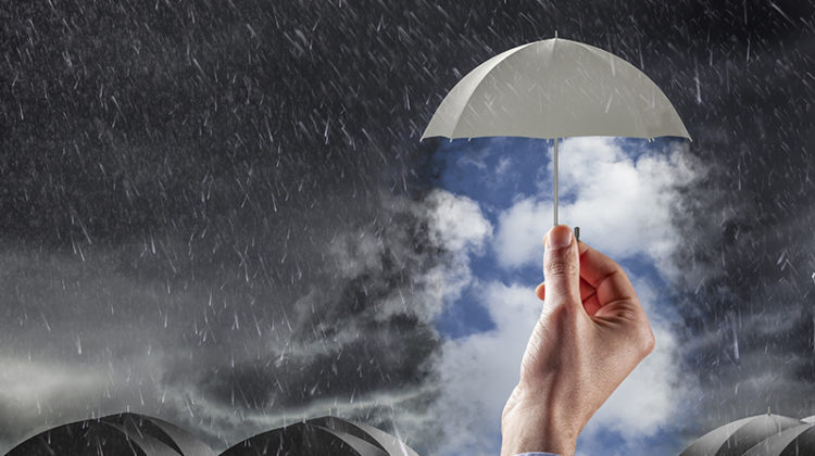 umbrella, storm, natural disaster, emergency response, protection, security, safety