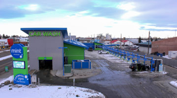 carwash, winter, site, vacuums, tunnel
