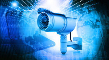 surveillance camera, security, computer, technology, internet