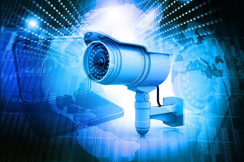 surveillance camera, security, computer, technology, internet