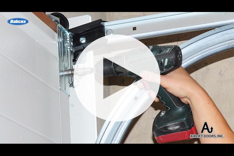 carwash door, maintenance, drill