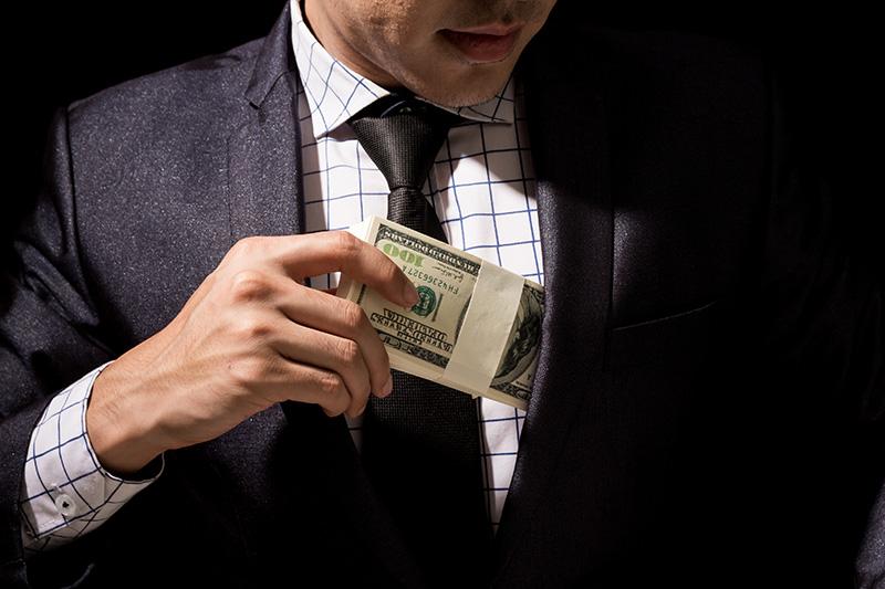businessman, money, embezzlement, embezzling