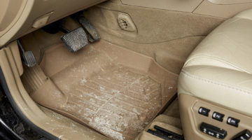 floor mat, winter, snow, ice, detailing, interior cleaning, upholstery