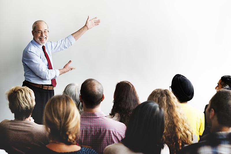 seminar, teaching, education, new investor