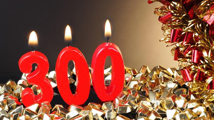 300, celebration