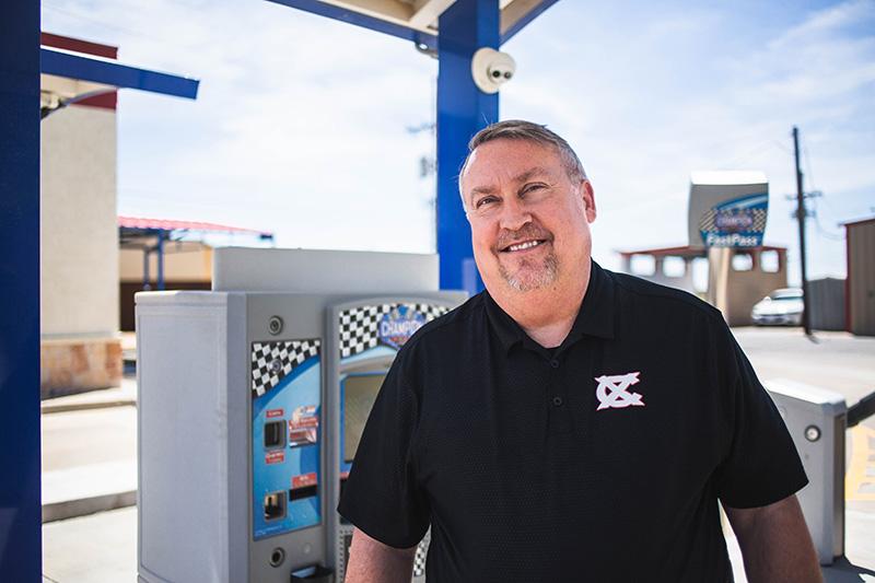 Jeff Wagner, Champion Xpress Car Wash