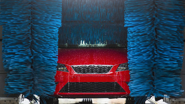 carwash, IBA, in-bay automatic, car, brushes