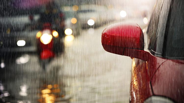 flood, flooding, cars, rain, car