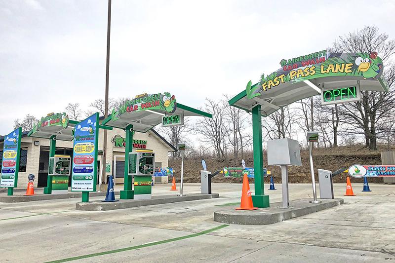 TSS Inc., signs, menus, pay stations, signage