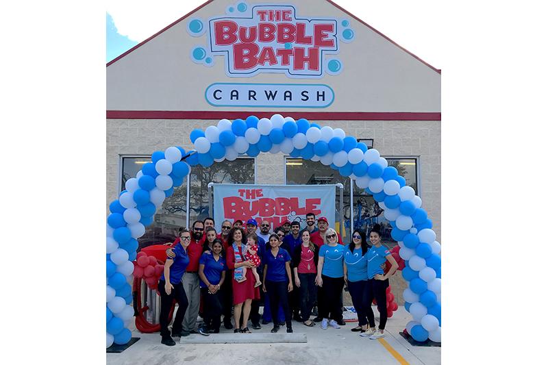 Bubble Bath Car Wash