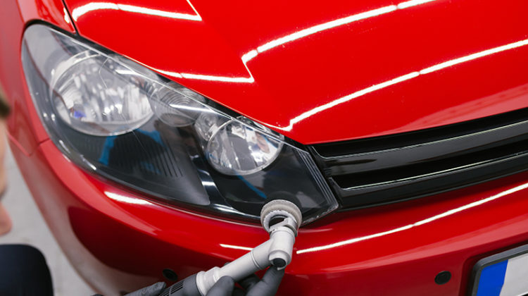 car, orbital polisher, detailing, headlight