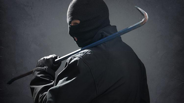 burglar, criminal, crowbar, masked man, crime