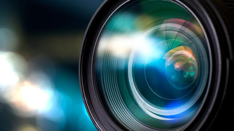 camera, lens, video