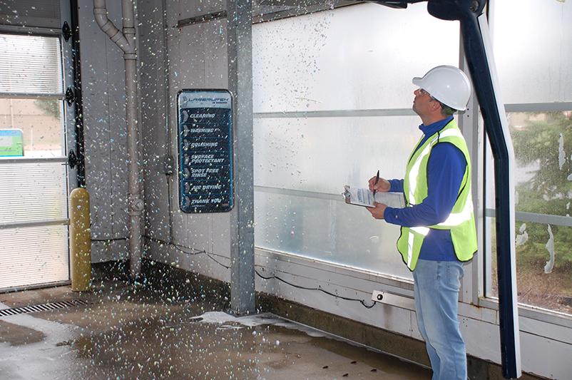 maintenance, technician, foam, carwash, bay, IBA
